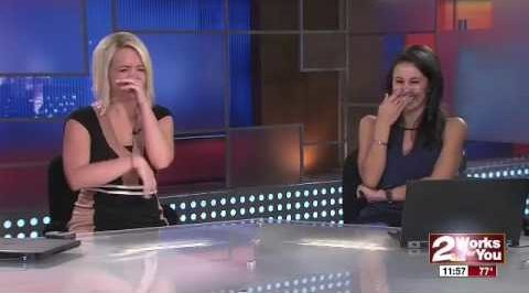 Tulsa News Anchors Loose It After Baby Bird Shits on Live TV