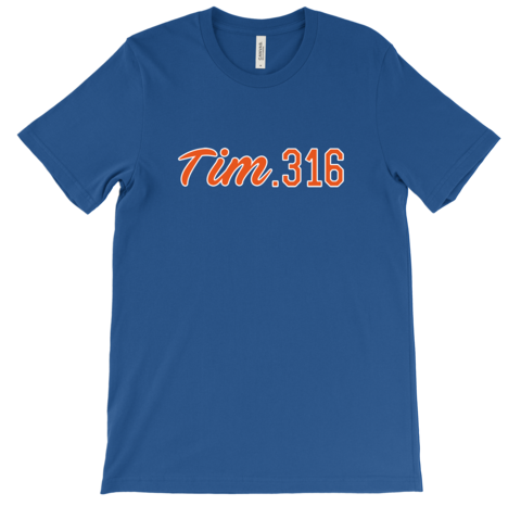 Tim .316 Shirts Are Live And They're A Must Buy For Every Mets Fan
