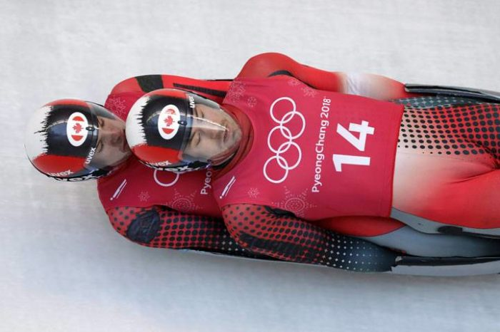 """Maybe Not The Best Idea To Use The Headline """"Exciting Climax"""" When Talking About Doubles Luge"""