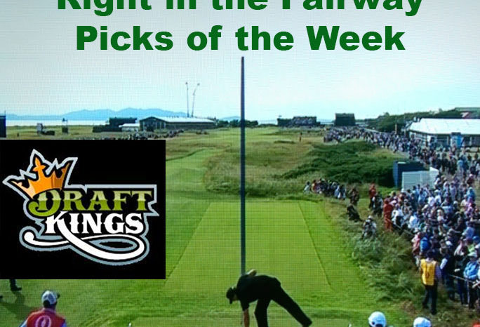 Right In The Fairway DraftKings Arnold Palmer Picks