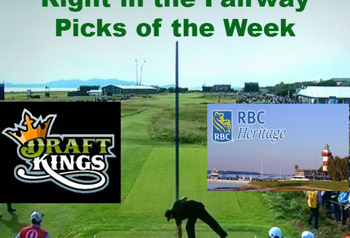 Right In The Fairway DraftKings RBC Heritage Picks