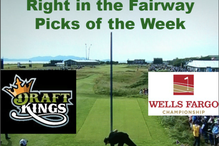Right In The Fairway Draftkings Wells Fargo Picks Of The Week