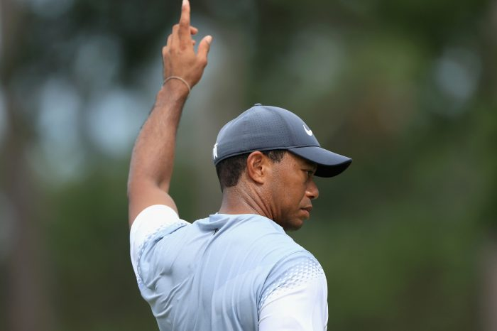 Tiger Woods Just Shot A 65 On Saturday At THE PLAYERS!!!!! Oh Yeah, So Did Jordan Spieth.