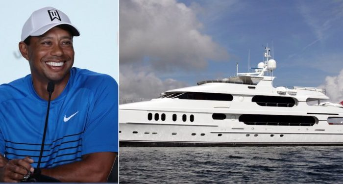 "If Tiger Calls His Yacht ""The Dinghy"" I Wonder What He Calls His... You Know"