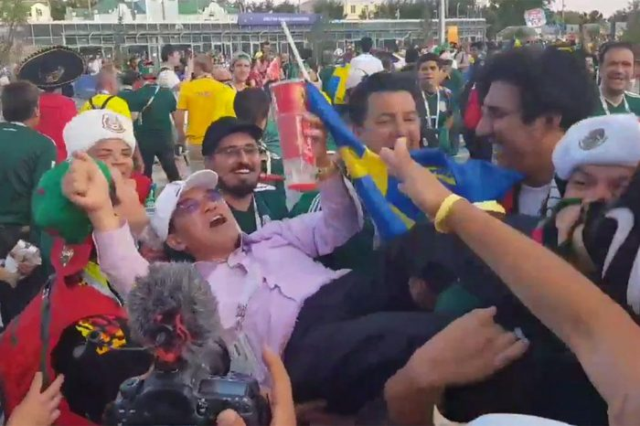 Mexican Fans Celebrating With Old Korean Men Is The Best Thing On The Internet Today