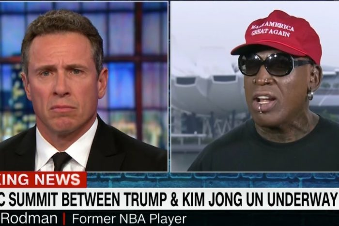 On One Of The Biggest Geopolitical Nights In History, The Star Was Naturally Dennis Rodman