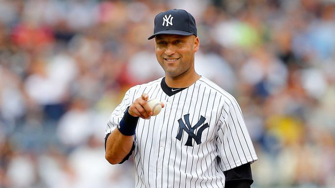 Derek Jeter Used To Pay His Bets Back In Pennies... RE2PECT
