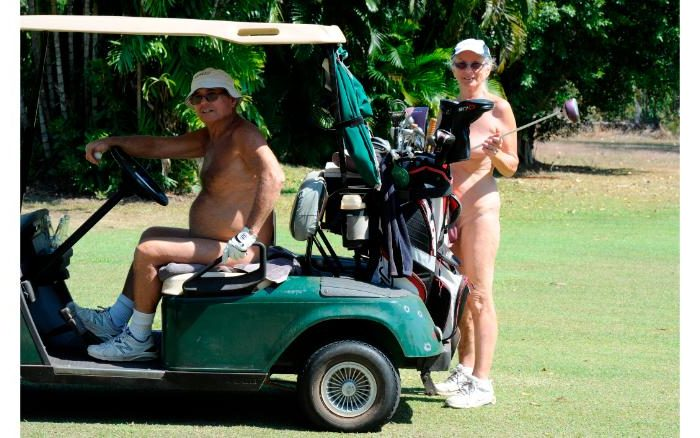Would You Golf Naked?