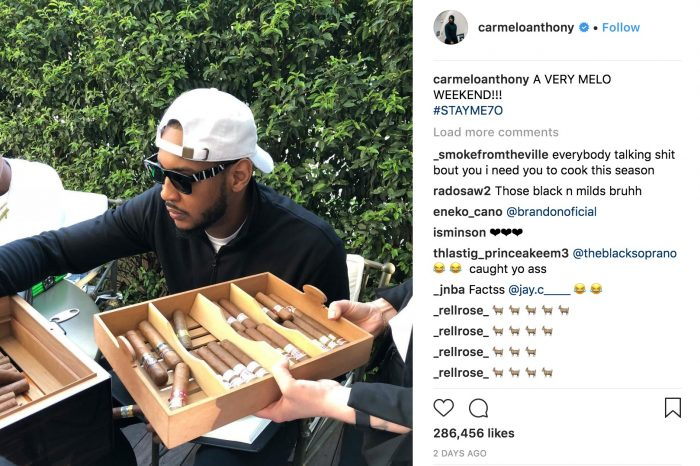 Melo Continues To Disregard Each And Every One Of His Haters