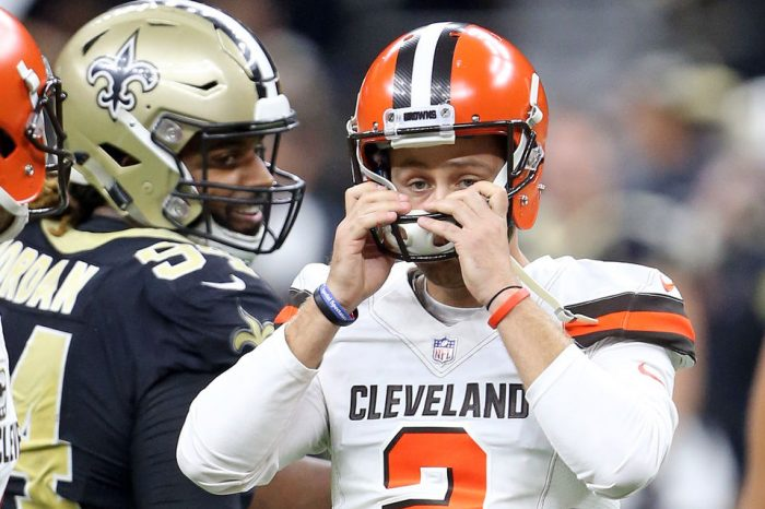 The Saints Won Because The Browns Are The Browns